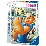 Ravensburger - Popeye y los cómics, rompecabezas de 1000 piezas, 70 x 50 cm (196296)