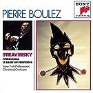 Stravinsky : P�trouchka - Le Sacre du printemps