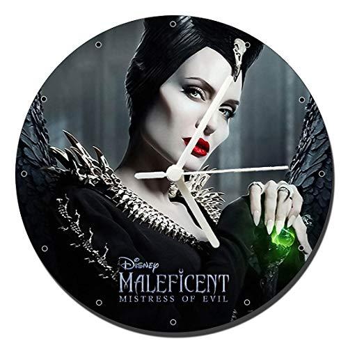 Maleficent 2 Mistress of Evil Angelina Jolie Wanduhren Wall Clock 20cm
