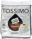Tassimo Carte Noire Cappuccino, Kaffee, Kaffeekapsel, gemahlener Röstkaffee, 16 T-Discs (8 Portionen)
