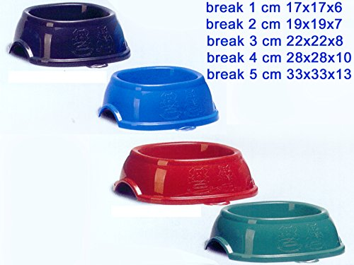 Pet bol break 1 cm. 17 x 17 x 6