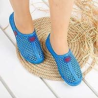 Gezer 11853 Günlük Havuz Deniz Rafting Bayan Plaj Ayakkabısı Mavi