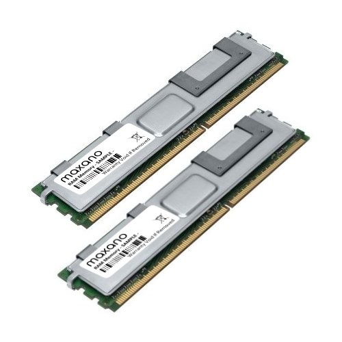 667 Mhz Dual-channel-kit Speicher (4GB Dual Channel KIT (2x 2GB) für Dell PowerEdge SC1430 DDR2 667MHz PC2-5300 Fully-Buffered RAM Speicher)