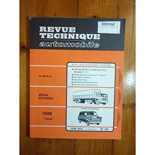 RTA0314 - REVUE TECHNIQUE AUTOMOBILE FORD TRANSIT