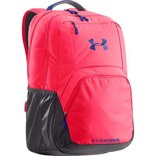 Under Armour, Zaino, Rosa (Neo Pulse/ Phantom Grey/ Siberian Iris), 46 x 28 x 23 cm
