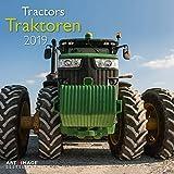 Traktoren - Broschurkalender - Kalender 2019 - teNeues-Verlag - Art & Image - Wandkalender mit Poster und Platz für Ein