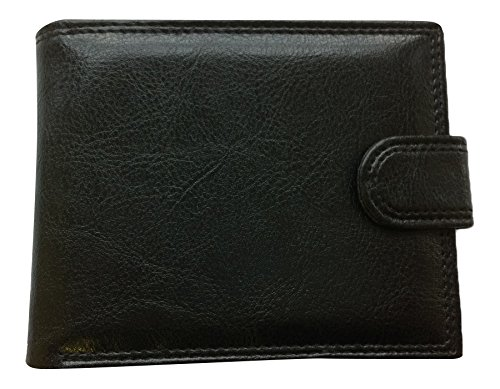 santos-designer-mens-faux-leather-bifold-wallet-soft-with-zip-compartment