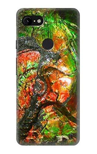 Innovedesire Ammonite Fossil Hülle Schutzhülle Taschen für Google Pixel 3 XL