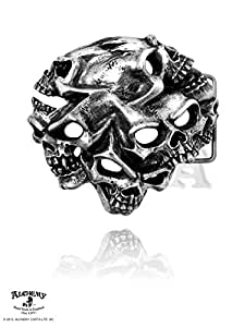 Alchemy Gothic (Metal-Wear) Gestalt Crâne Boucle de Ceinture