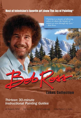 Bob Ross DVD. Lake Collection. 390 Minutes.