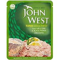 John West Cal Atún Y Pimienta 85g Bolsa (Paquete de 6)