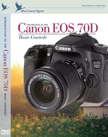 Blue Crane Digital zBC157 Introduction To Canon EOS 70D: Basic Controls (White)