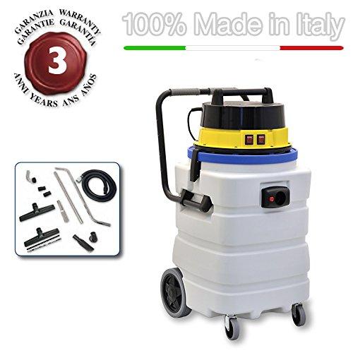EOLO ASPIRATEUR ASPIRE LIQUIDES ET SOLIDES PROFESSIONNEL AVEC RÉSERVOIR ANTI-ACIDES avec accessoires LP29 (90 litres) MADE IN ITALY