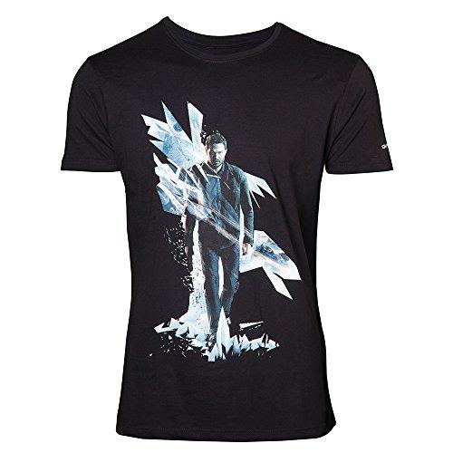 Quantum Break Box Art T-Shirt schwarz Black