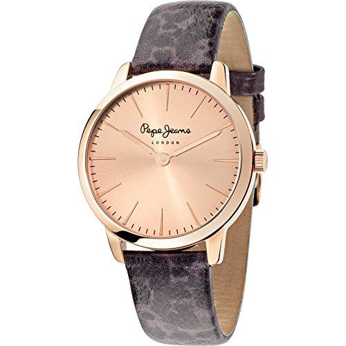 Pepe Jeans de mujer reloj de pulsera Amy analógico de cuarzo piel r2351122502