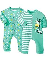 Kinderbutt Schlafanzug 2er-Pack mit Druckmotiv
