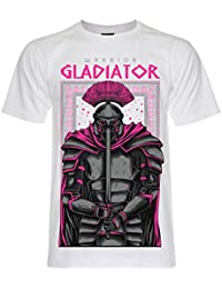 PALLAS Unisex's Warrior Gladiator Graphic Art T Shirt
