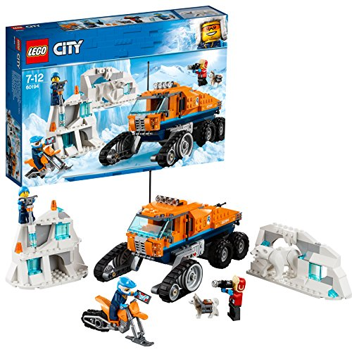 LEGO 60194 City Arctic Expedition Arctic Scout Truck Building Set Best Price and Cheapest