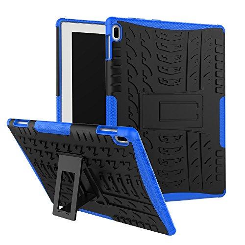 maomi Lenovo Tab 410Fall (tb-x304F/N), [Feature], Dämpfung/High Impact Resistant Heavy Duty Armor Defender Case mit Ständer für Lenovo Tab 425,7cm 2017Tablet x304F/N Blau Blau - 4 Defender Case