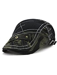 Impression 1 PCS Boinas Ocio Retro Hat Gorra de Golf Sombrero de Sol Deporte al Aire Libre Primavera Verano para Unisex Hombre Mujer ODhKUKD