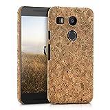 kwmobile Kork Hülle Natur für LG Google Nexus 5X - Case