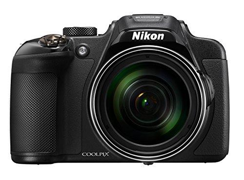 Nikon Coolpix P610 Digitalkamera (16 Megapixel, 60-Fach Opt. Zoom, 7,6 cm (3 Zoll) LCD-Display, USB 2.0, bildstabilisiert) schwarz