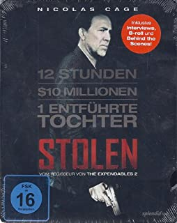 Stolen [Steelbook] [Blu-ray]