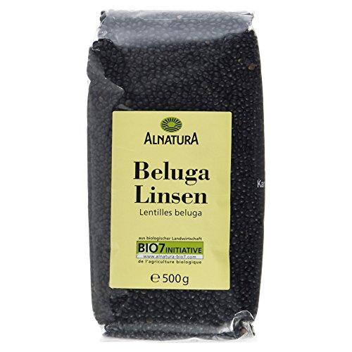 Alnatura Bio Belugalinsen, 500 g Test