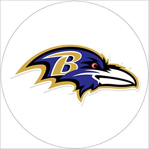 Fondant Tortenaufleger Tortenbild Geburtstag NFL Baltimore Ravens T1 (Baltimore Ravens Dekorationen)