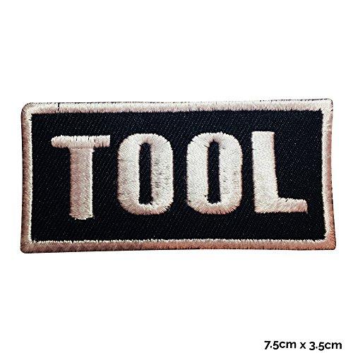 Werkzeug Punk Rock Musik Metall Emo Goth Eisen nähen auf bestickt Patch oder Badge Fancy Kleid Kostüm T Shirt Tasche Jacke Badge