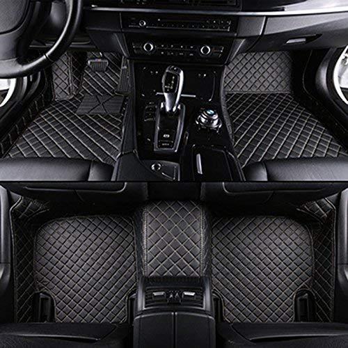 SIZHINIAN Personalizzati tappetini Auto per Mitsubishi Outlander XL Pajero 4 Lancer Sport grandis Galant ASX tappetini per Auto Accessori Auto, Marrone