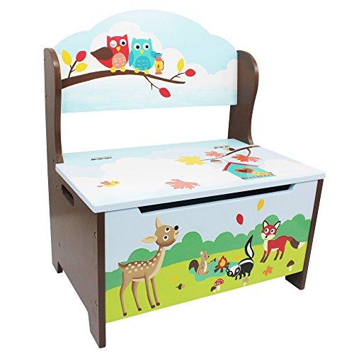 Fantasy Fields Kids KinderHolz-Sitzbank mit StauraumBox Spielzeug TD-11734A