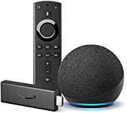 All-new Echo Dot (4th generation) and All-new Fire TV Stick