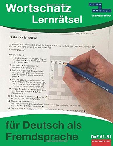 Wortschatz-Lernrätsel für Deutsch als Fremdsprache: DaF A1-B1
