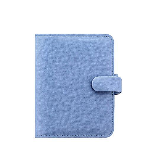 Filofax–Agenda, Pocket Saffiano Bright blau