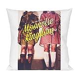 Moonrise kingdom graphic movie poster Pillow