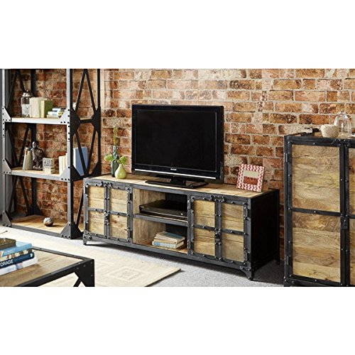 Bramley Industrial Furniture Large TV Unit