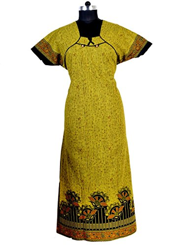 Indian Cotton Long Kaftan Women Gown Beach Caftan Dress Maxi Tunic  available at amazon for Rs.325
