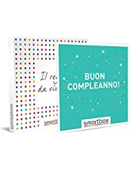 smartbox Buon Compleanno, Cofanetto Regalo Donna, Uomo, Multiattività, Standard