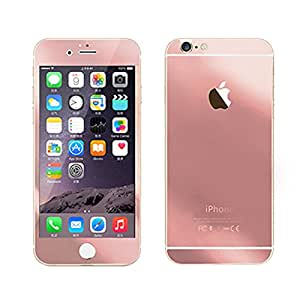Royal Touch ™ APPLE IPHONE SE (ROSE GOLD) TEMPERED GLASS SCREEN PROTECTOR/BUBBLE FREE APPLICATION/HOLE FOR FRONT PROXIMITY SENSOR/NO HANGING PROBLEM/HIGH QUALITY JAPANES AGC GLASS MATERIAL