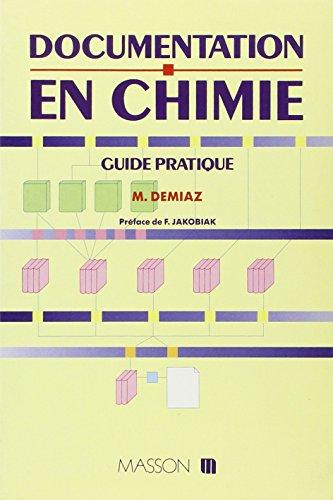 Documentation en chimie : Guide pratique