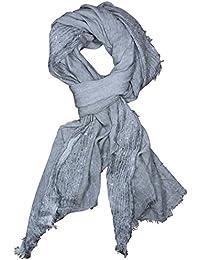67846f26319 FERETI Châles à Sequins Paillettes Gris Grand Echarpe Foulard Femme Sequin  pastel Broderies ...