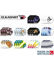 30 Dart Flights Assorted ELKADART- AMAZING BARGAIN