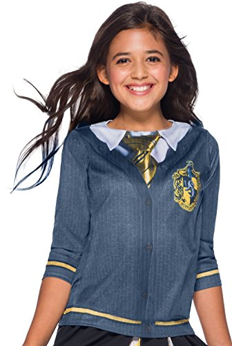 (Harry Potter House Hufflepuff Child Costume Top - Large)