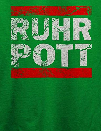 Ruhr Pott Vintage T-Shirt Grün