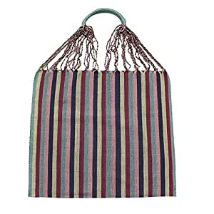 Einkaufstasche Boho Tenango 'mint'; Handgewebt, Handtasche, HANDARBEIT, Tasche, Geschenkidee für Frauen