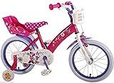 Cadre en acier 16'Minnie Mouse Vélo Vélo pour enfant Roues Arrières Disney 31626