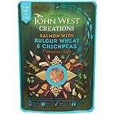John Creations Ouest Saumon Avec Boulgour Et Pois Chiches 180G (Paquet de 6)