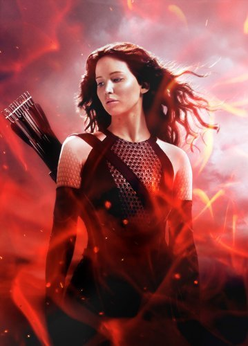 The Hunger Games Catching Fire (2013) 24X36 Movies Poster (THICK) - Jennifer Lawrence, Josh Hutcherson, Liam Hemsworth by World Mall Group