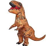 JASHKE Disfraz Inflable T-Rex Dinosaurio Adulto Disfraz Cosplay Disfraz Fiesta Regalo